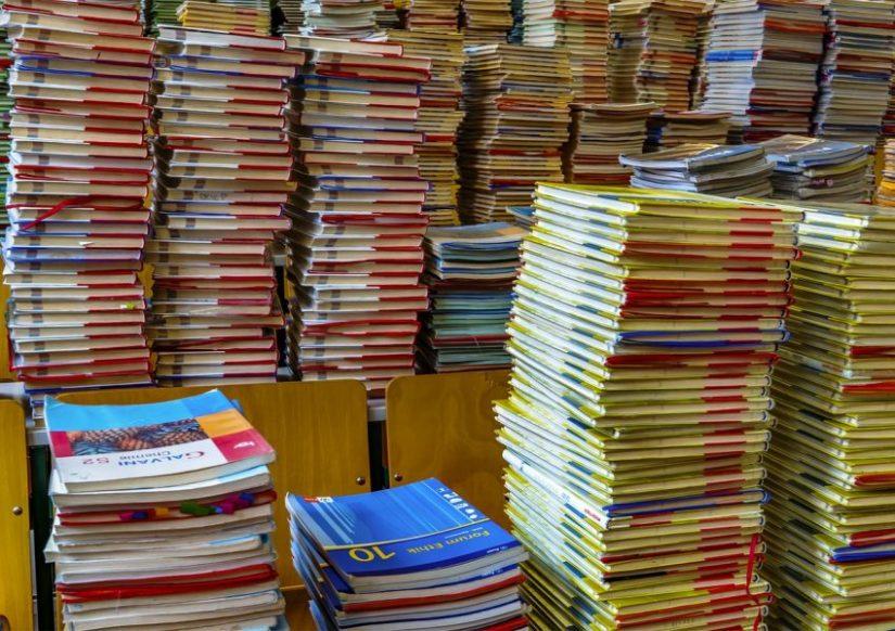 Munts de llibres